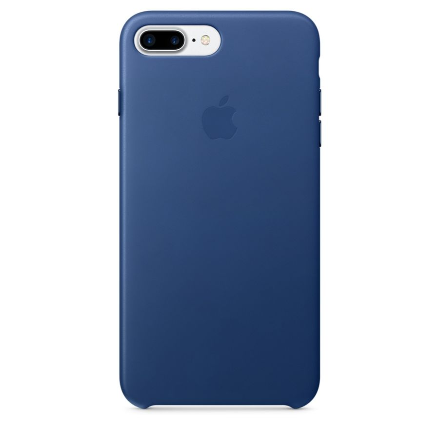 Чехол (клип-кейс) APPLE MPTF2ZM/A, для Apple iPhone 7 Plus, темно-синий apple чехол клип кейс apple для apple iphone 7 mmy52zm a черный