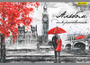 Альбом для рисования Silwerhof 911155-74 40л. A4 Лондон 2диз. мел.картон офс.лак склейка вид 1