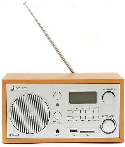 Радиоприемник СИГНАЛ БЗРП РП-320,  дерево светлое