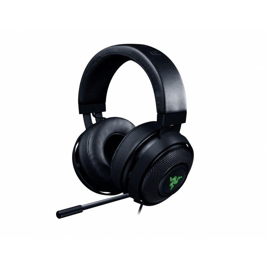 Наушники с микрофоном RAZER Kraken 7.1 V2,  мониторы, черный  [rz04-02060100-r3m1]