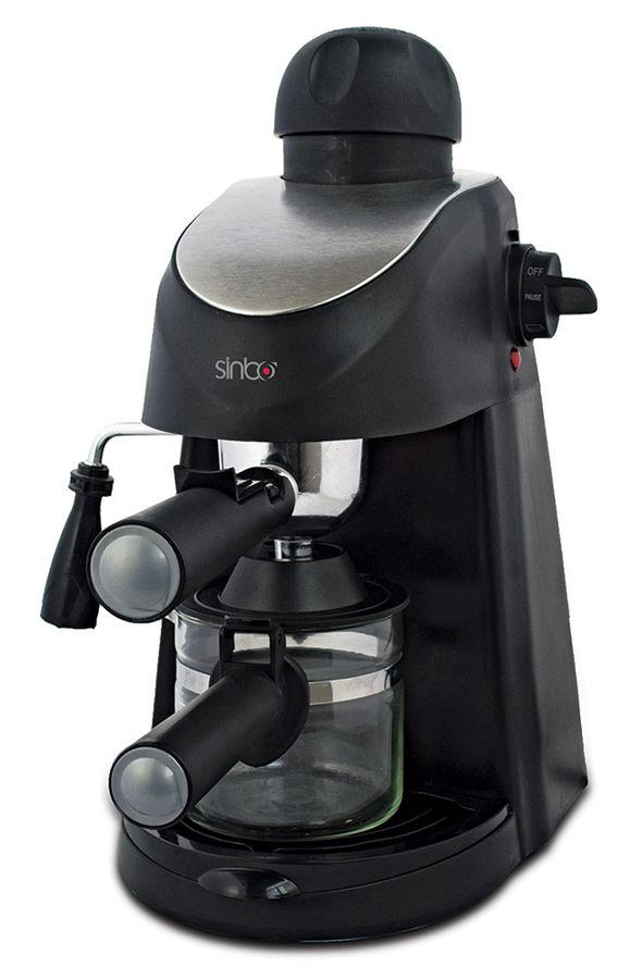 Кофеварка SINBO SCM 2945,  эспрессо,  черный
