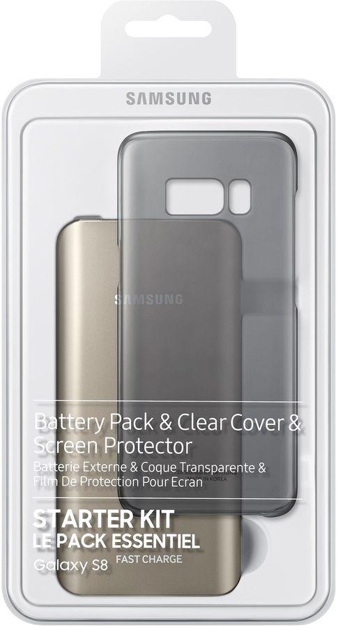 Набор SAMSUNG Starter Kit S8,  Samsung Galaxy S8,  черный [eb-wg95abbrgru]