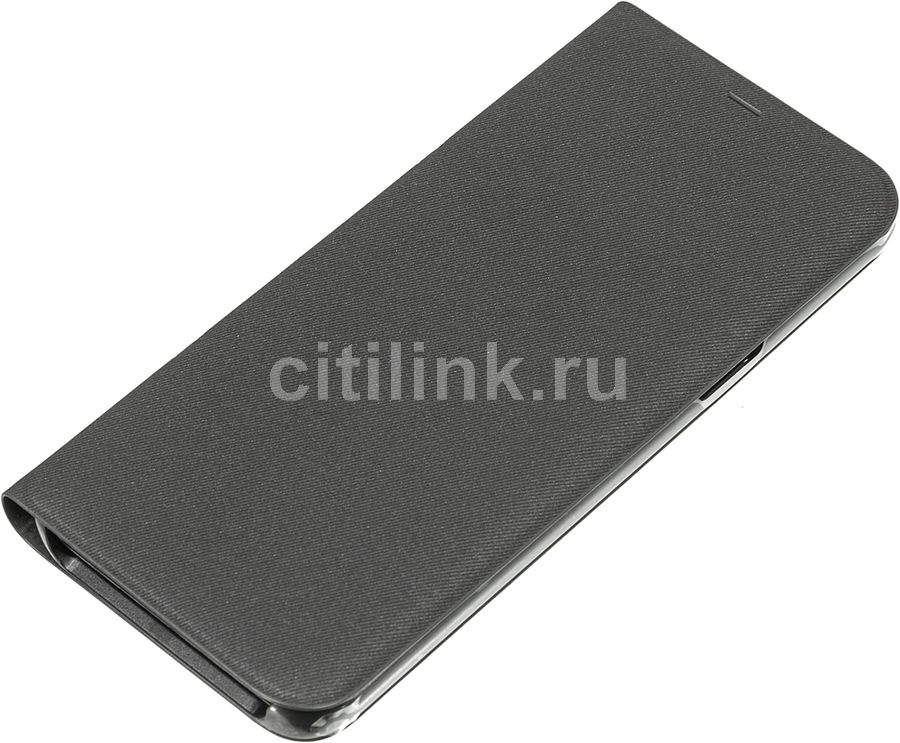 Чехол (флип-кейс) SAMSUNG LED View Cover, для Samsung Galaxy S8+, черный [ef-ng955pbegru]