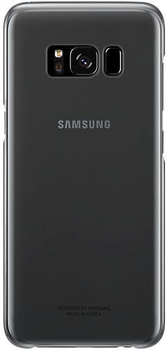 Чехол (клип-кейс) SAMSUNG Clear Cover, для Samsung Galaxy S8, черный [ef-qg950cbegru]