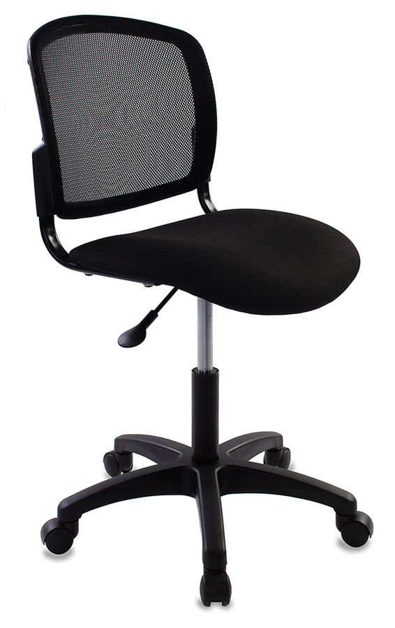 Кресло БЮРОКРАТ CH-1296, на колесиках, ткань, черный [ch-1296nx/black]