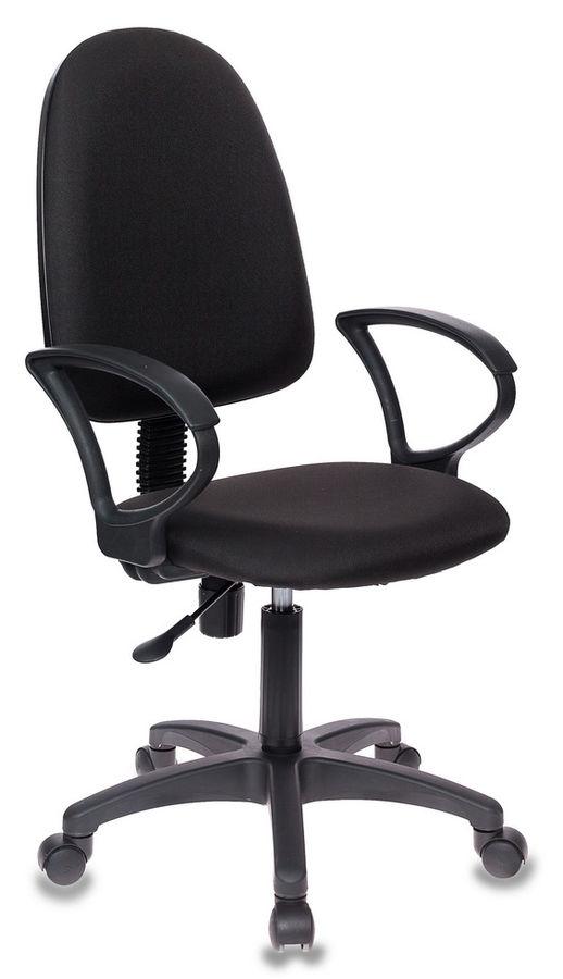 Кресло БЮРОКРАТ CH-1300, на колесиках, ткань, черный [ch-1300/black]
