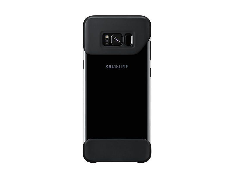 Бампер SAMSUNG 2Piece Cover, для Samsung Galaxy S8+, черный [ef-mg955cbegru] бампер samsung 2piece cover great для samsung galaxy note 8 темно синий [ef mn950cnegru]