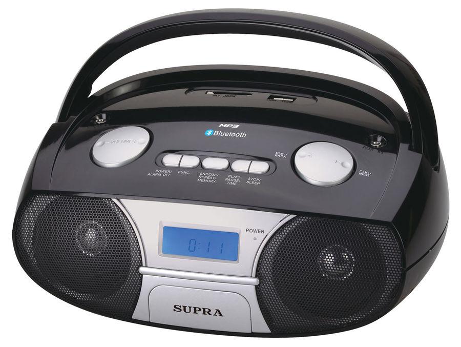 Аудиомагнитола SUPRA BB-45MUSB,  черный