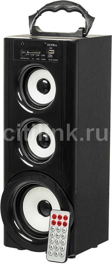 Аудиомагнитола SUPRA BTS-950,  черный