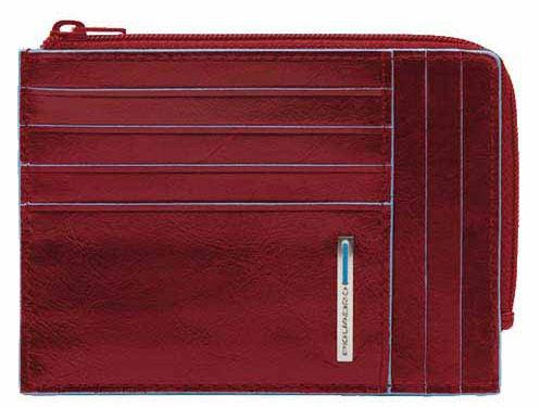 Чехол для кредитных карт Piquadro Blue Square PU1243B2R/R красный