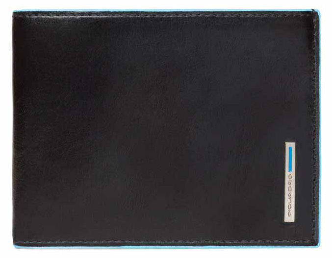 Кошелек мужской Piquadro Blue Square PU257B2R/N черный натур.кожа