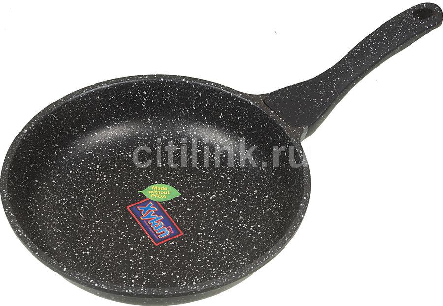 Сковорода SUPRA Katai SAD-K242F, 24см, без крышки,  темно-серый