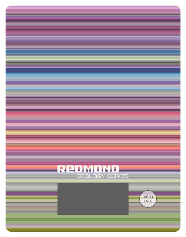 Весы кухонные REDMOND RS-736,  рисунок/полоски