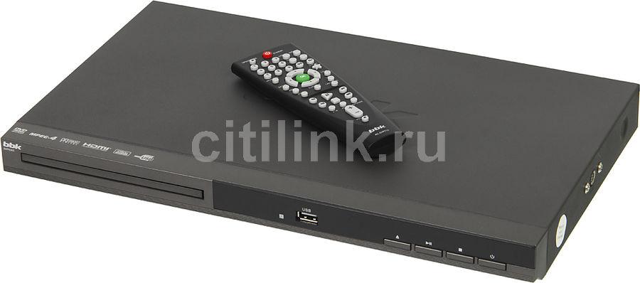 Плеер DVD BBK DVP036S темно-серый Караоке ПДУ (отремонтированный)