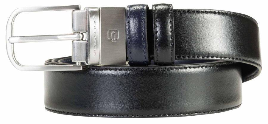 Ремень мужской Piquadro C11 CU3255C11/NB черный/синий натур.кожа