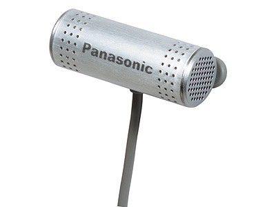 Микрофон PANASONIC RP-VC151E-S,  серебристый