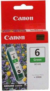 Картридж CANON BCI-6G 9473A002,  зеленый