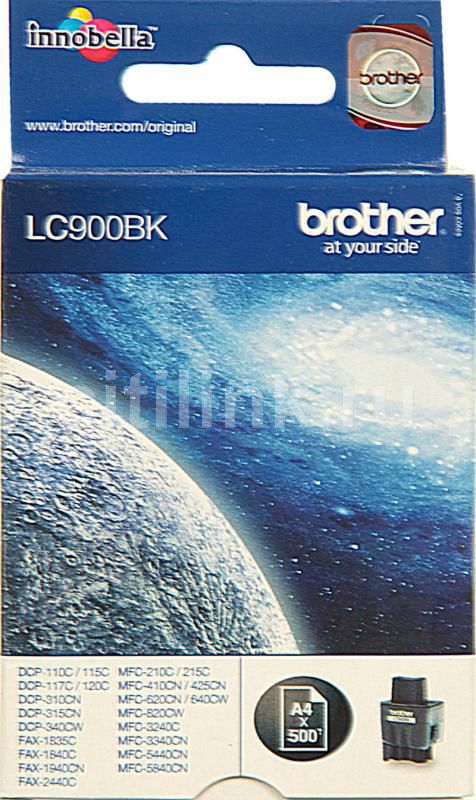 Картридж BROTHER LC900BK черный