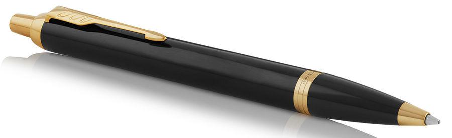 Ручка шариковая Parker IM Core K321 (1931666) Black GT M синие чернила подар.кор.