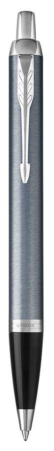 Ручка шариковая Parker IM Core K321 (1931669) Light Blue Grey CT M синие чернила подар.кор.
