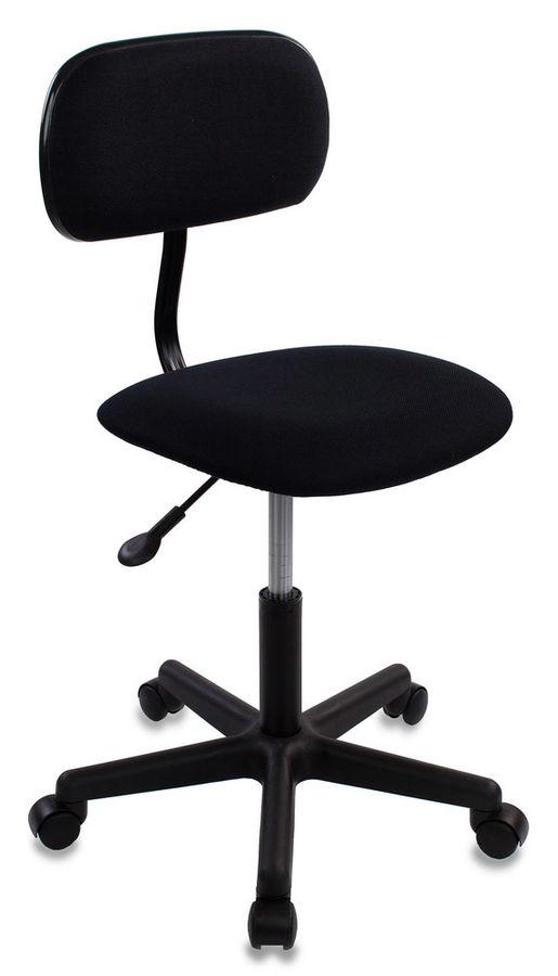 Кресло БЮРОКРАТ CH-1201, на колесиках, ткань, черный [ch-1201nx/black]