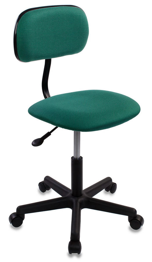 Кресло БЮРОКРАТ CH-1201, на колесиках, ткань, зеленый [ch-1201nx/green]