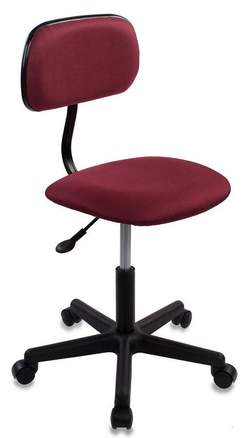 Кресло БЮРОКРАТ CH-1201, на колесиках, ткань, бордовый [ch-1201nx/cherry]