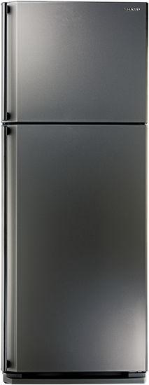 Холодильник SHARP SJ-58CST,  двухкамерный, нержавеющая сталь