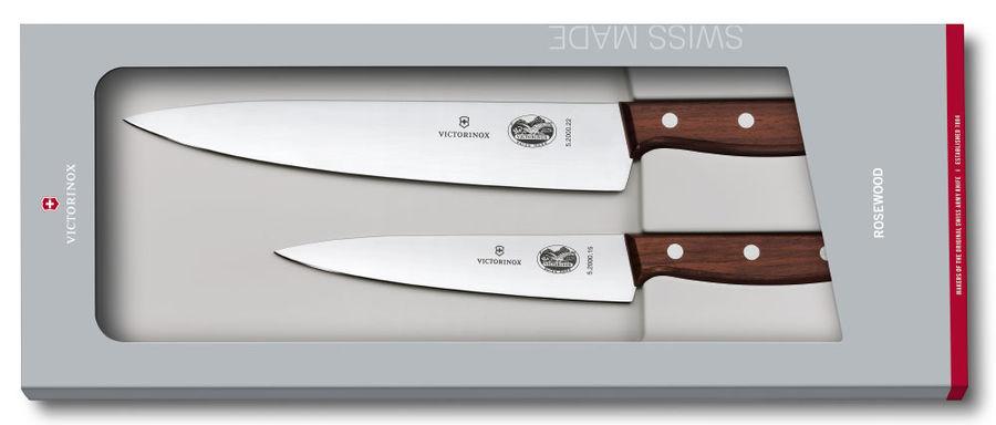 Набор ножей Victorinox Wood (5.1050.2G) стальной лезв.220мм подар.коробка