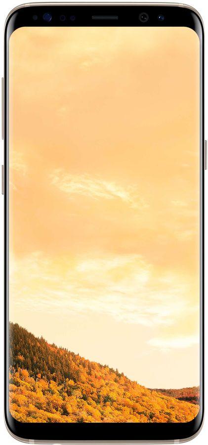 Смартфон SAMSUNG Galaxy S8 64Gb,  SM-G950F,  золотистый