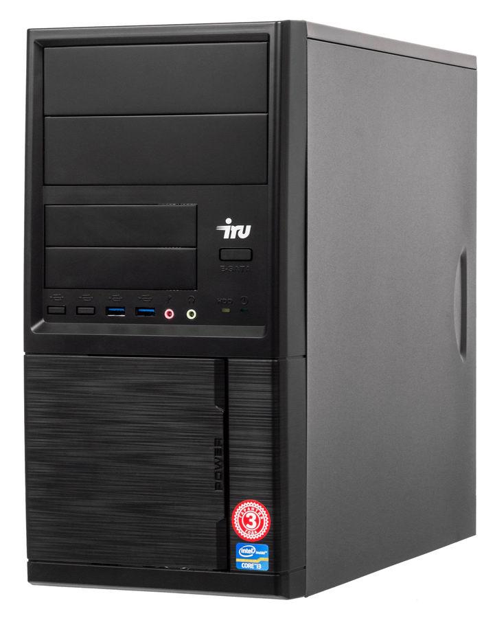 Компьютер  IRU Office 511,  Intel  Core i5  7400,  DDR4 8Гб, 1000Гб,  Intel HD Graphics 630,  DVD-RW,  Windows 10 Professional,  черный [458167]