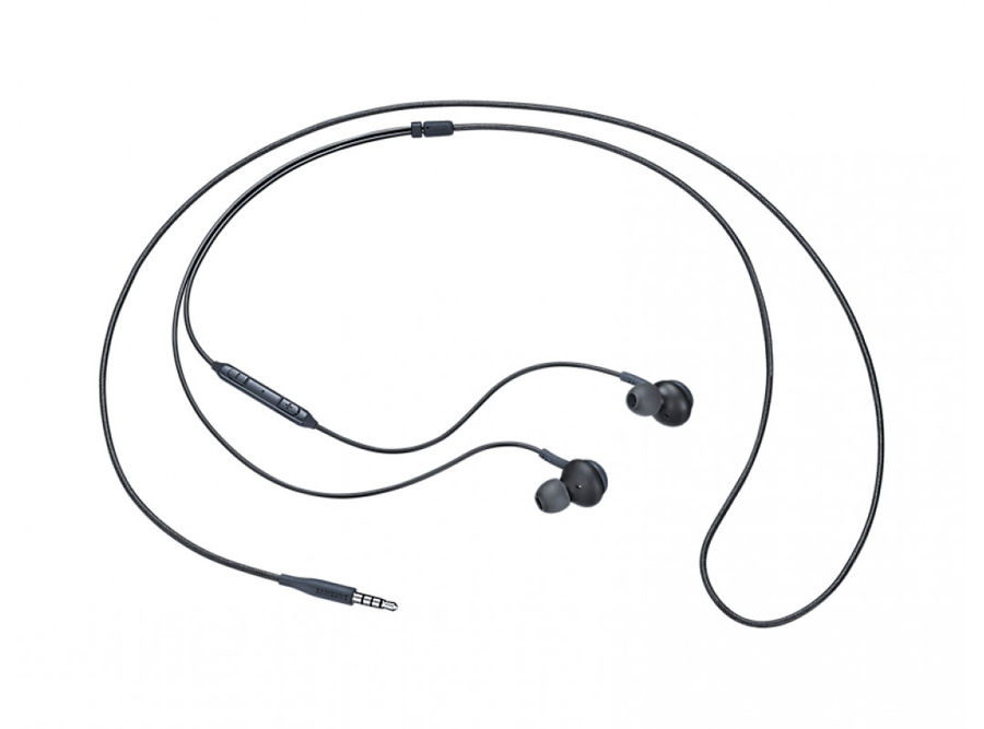 Гарнитура SAMSUNG Earphones Tuned by AKG, вкладыши, титановый, проводные akg y 20u