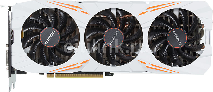 Видеокарта GIGABYTE nVidia  GeForce GTX 1080Ti ,  GV-N108TGAMING OC-11GD,  11Гб, GDDR5X, OC,  Ret