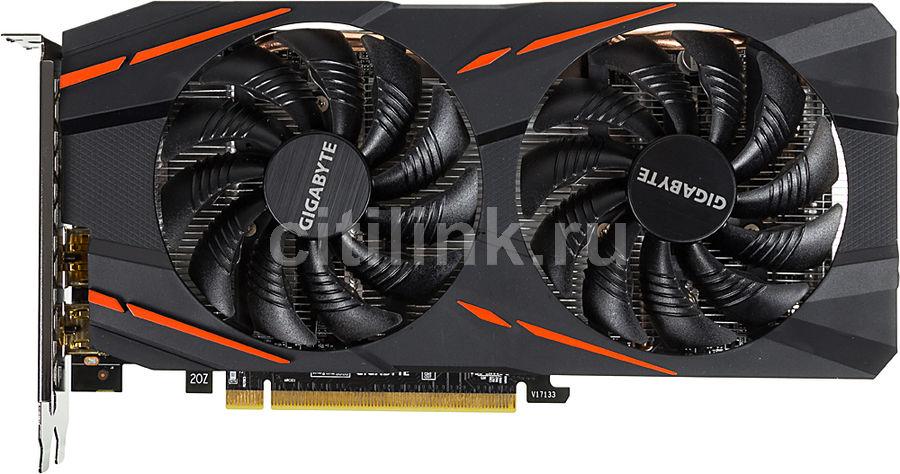 Видеокарта GIGABYTE AMD  Radeon RX 570 ,  GV-RX570GAMING-4GD,  4Гб, GDDR5, OC,  Ret