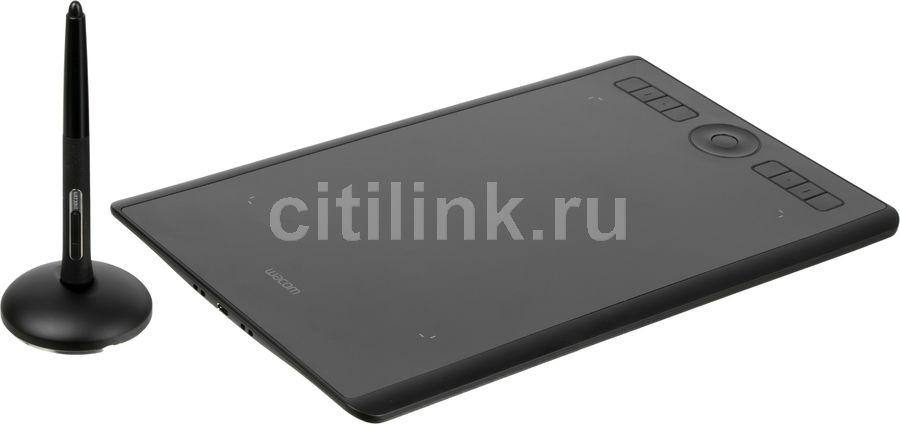 Графический планшет WACOM Intuos Pro PTH-660-R А5 черный