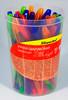 Ручка шариковая Silwerhof SLIDE BRIGHT (026153-02) 1.0мм треугол. резиновая манжета черн.на масл.осн вид 2