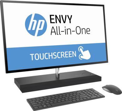 "Моноблок HP Envy 27-b101ur, 27"", Intel Core i5 7400T, 8Гб, 1000Гб, 128Гб SSD,  NVIDIA GeForce GTX 950M - 4096 Мб, Windows 10, черный [1av88ea]"