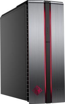 Компьютер  HP OMEN 870-276ur,  Intel  Core i7  7700K,  DDR4 16Гб, 2Тб,  256Гб(SSD),  nVIDIA GeForce GTX1070 - 8192 Мб,  DVD-RW,  Windows 10 Home,  серебристый и черный [1gt01ea]