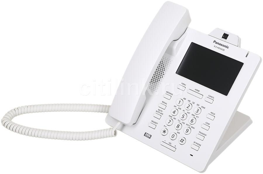 SIP телефон PANASONIC KX-HDV430RU
