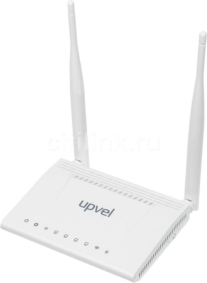 Беспроводной маршрутизатор UPVEL UR-344AN4G v1.2,  ADSL2+,  белый