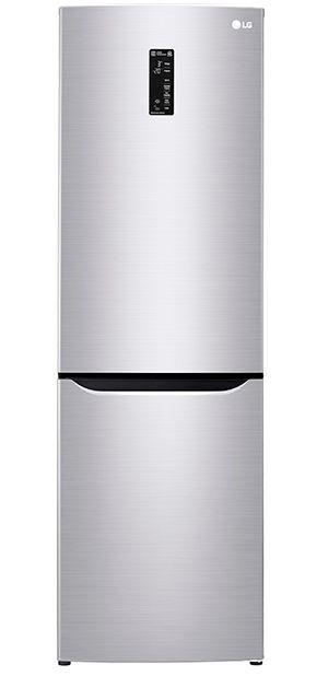 Холодильник LG GA-B429SAQZ,  двухкамерный,  серебристый