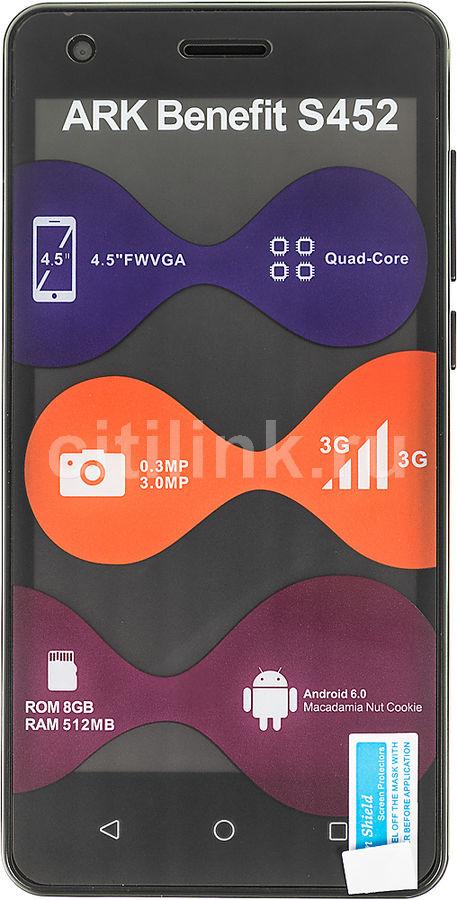 Смартфон ARK Benefit S452 черный