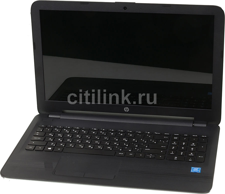 Ноутбук HP 15-ay017ur, 15.6, 1.6ГГц, 4Гб, 500Гб, Intel HD Graphics 405, DVD-RW, Windows 10, черный [w6y61ea]Ноутбуки<br>экран: 15.6;  разрешение экрана: 1366х768; частота: 1.6 ГГц (2.56 ГГц, в режиме Turbo); память: 4096 Мб, DDR3L, 1600 МГц; HDD: 500 Гб, 5400 об/мин; Intel HD Graphics 405; DVD-RW; WiFi;  Bluetooth; HDMI; WEB-камера; Windows 10<br>