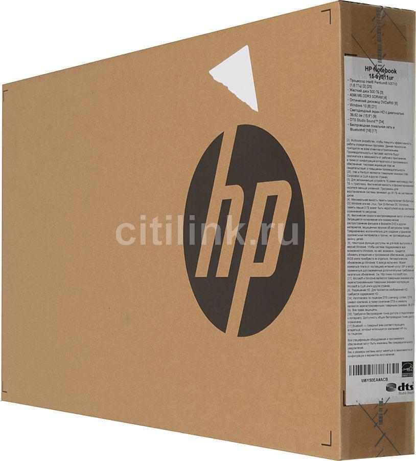Ноутбук HP 15-ay049ur X5C02EA (Intel Pentium N3710 1.6 GHz/4096Mb/500Gb/DVD-RW/Intel HD Graphics/Wi-Fi/Bluetooth/Cam/15.6/1366x768/Windows 10 64-bit)
