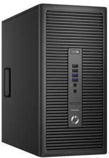 Компьютер  HP ProDesk 600 G2,  Intel  Core i5  6500,  DDR4 8Гб, 256Гб(SSD),  Intel HD Graphics 530,  DVD-RW,  Windows 10 Professional,  черный [x3j40ea]