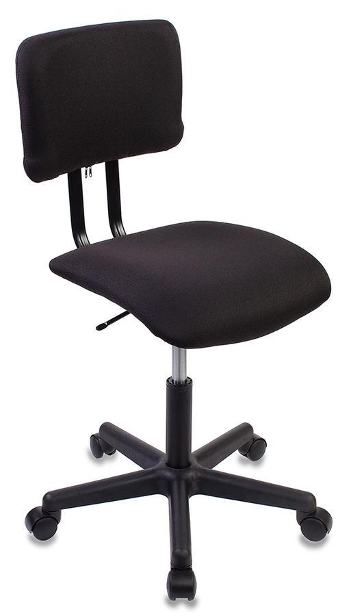 Кресло БЮРОКРАТ CH-1200, на колесиках, ткань, черный [ch-1200nx/black]