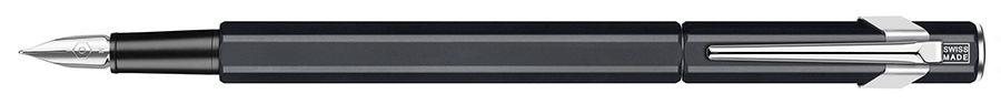 Ручка перьевая Carandache Office 849 Classic (840.009) Matte Black M сталь нержавеющая подар.кор.