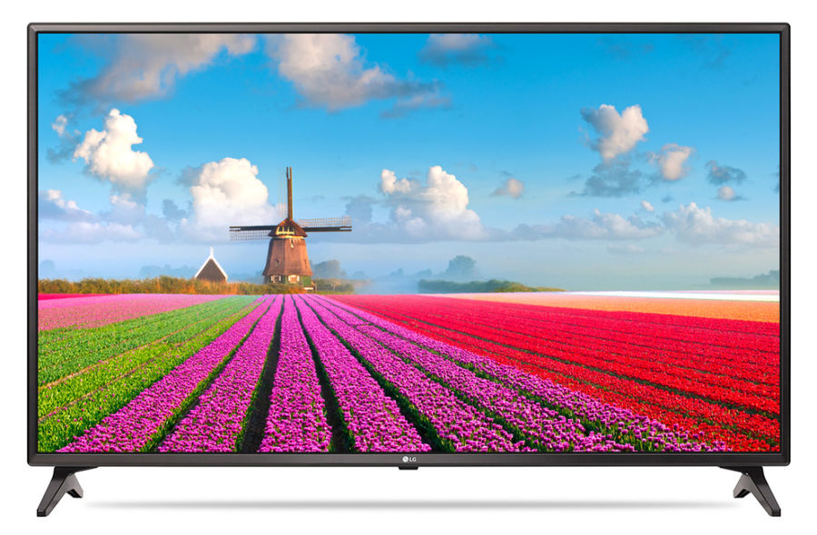 "LED телевизор LG 49LJ610V  ""R"", 49"", FULL HD (1080p),  черный"