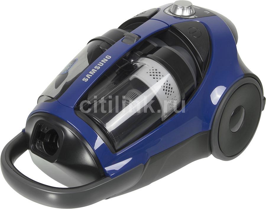 Пылесос SAMSUNG SC8836, 2200Вт, синий