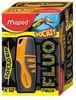 Текстовыделитель Maped FLUO PEP`S POCKET 742735 1-5мм резиновый корпус оранжевый
